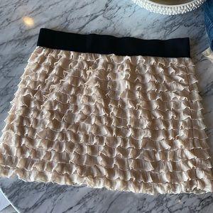 Free People Ruffle Skirt